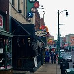 Beale St during the day.