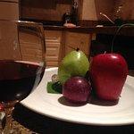 Frutas en la habitación