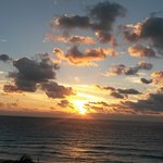 Cancun sunrise at The Golden Parnassus Resort & Spa