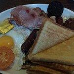 Traditional Irish free breakfast