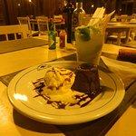 Caipirinha y Volcán con helado de postre, una caricia al padagar