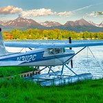 Lake Hood, the busiest floatplane base in the world, is a perfect gateway to Alaska adventure.