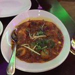Beautiful Curries The Garlic Madras  & the HOTTEST Curry on the menu 😳