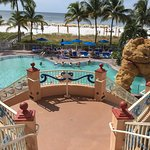 Picture when checking in. 3 pools & beach access (relaxing, paddle board, parasailing, jet ski,