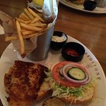 Parejesan Walleye Sandwich