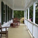 The front veranda.