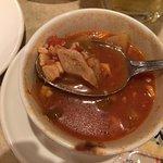 Manhattan Clam Chowder, meaty