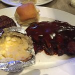 Tried BBQ Ribs and Filet combo and All You Can Eat Catfish