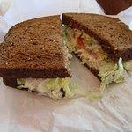 Albacore Tuna on 12 Grain Bread