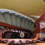 Classic winding staircase
