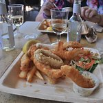 This was the flathead with a side of calamari although i had already eaten half the meal.