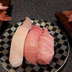 ซูชิปลาโอรวม มีทั้ง Otoro Chutoro