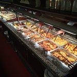 Stor flot buffet