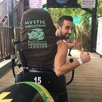 Rainforest Bobsled Jamaica at Mystic Mountain Foto