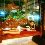 Swing in the lobby