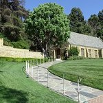 Wee Kirk o' the Heather chapel at Forest Lawn in Glendale, California.