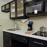 Each suite includes a kitchenette