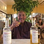 Bill was pleased with the complimentary drinks made by the owners family !