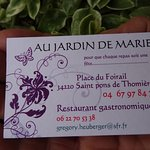 Photo of Au Jardin de Marie