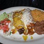 La Playa Enchilada Dinner