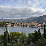 View of Cavtat from the dining room