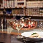 Filet de maigre sauvage sur Guazzeto (petite soupe) de tomate cerise