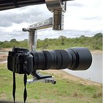 GIMPRO Photographic arms for stability of lease on photo safari