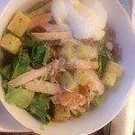 Chicken Ceaser Salad..couldnt even finish it ,,was amazing