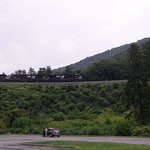Horseshoe Curve rail action