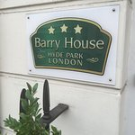We loved Barry House, thank you!