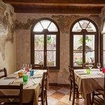 the frescos breakfast/dining room
