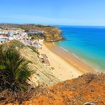 Looking down on Burgau.