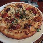 pretty large pizza