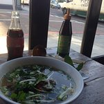 Pho Tai and a coke for £11
