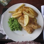 Cod goujons and chips