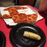 Late night pepperoni and breadsticks! So tasty.