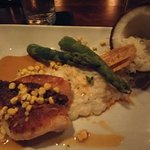 Snapper with Coconut Risotto