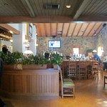 Reception area/full bar