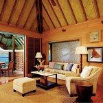 Overwater Bungalow Suite - living room