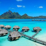 Overwater Bungalow Suites - aerial