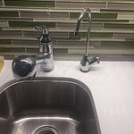 The separate filtered water tap is a nice touch