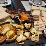 The savoury board for four people