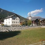 Local church and Alpone village