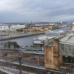 Glasgow room view.