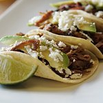 The skirt steak taco...delicious