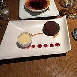 Très bon repas, le dessert un délice....