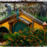 """The """"Hobbit House"""" ...I edited a bit to give that """"dreamy"""" look! 8-)"""