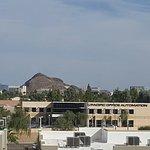 """Downtown Tempe with ASU """"A"""" mountain"""
