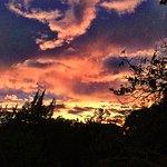 Sunset at Finca Rosa Blanca