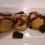 Perfetto Profiteroles with Chocolate Sauce